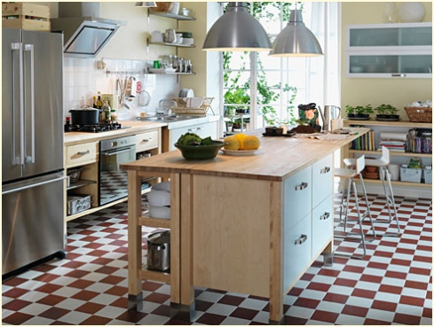 Ikea, Varde, Kitchen, Stand, Alone, Free, Standing, Cabinets, Island